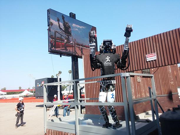 IHMC Atlas Robot celebrates