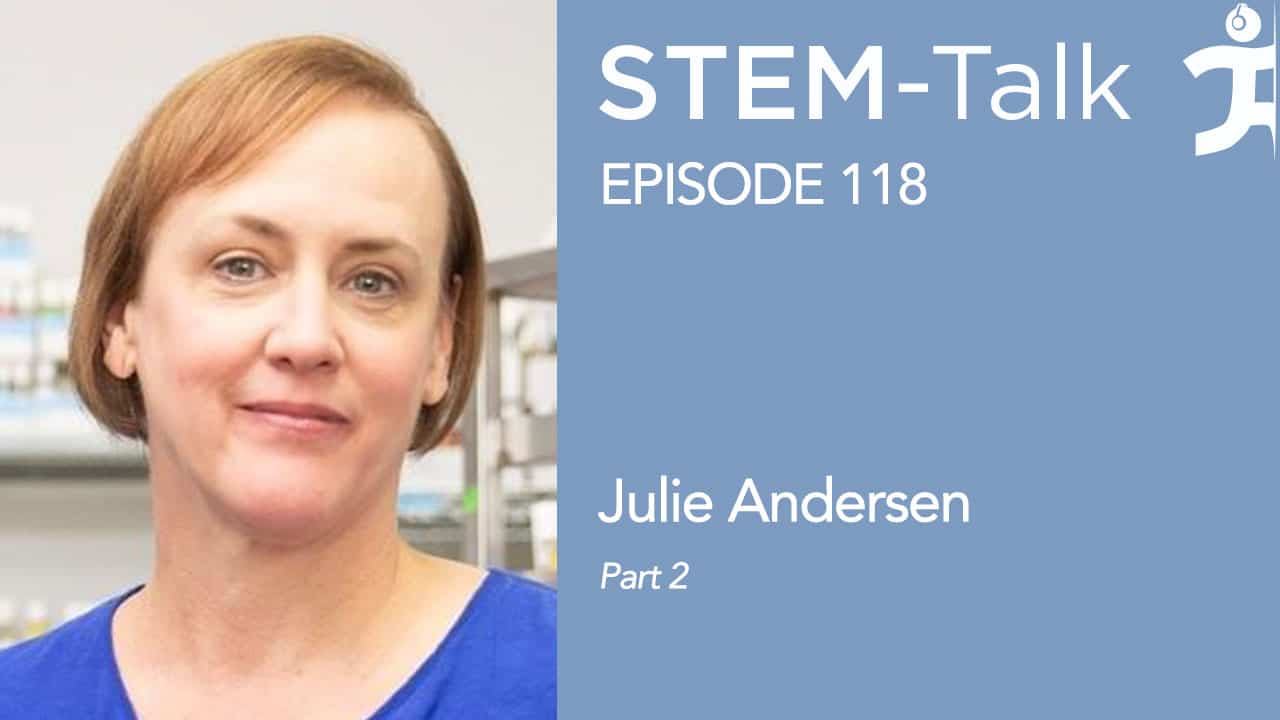 Episode 118: Julie Andersen talks about urolithin-A's potential to prevent and treat neurodegenerative diseases